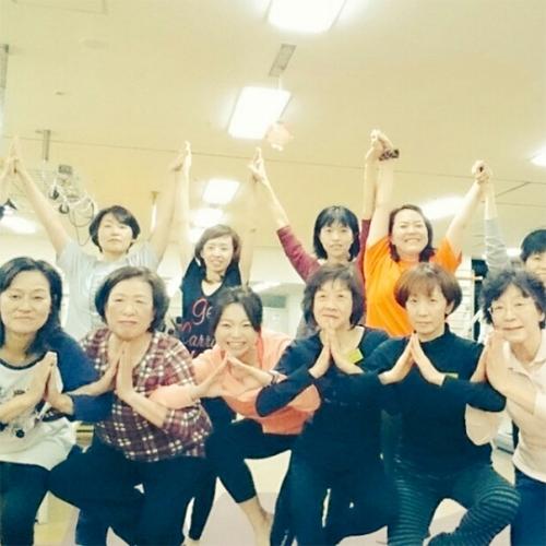 墨田区健康福祉事業健康づくりヨガ教室ラスト!/京乃ともみ
