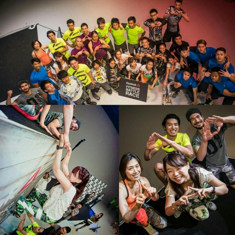 記者発表会!「Reebok Fitness Battle Race」/京乃ともみ